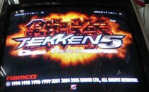 Tekken 5 DR Soft kit (Disk & Dongle) Video Arcade Game NAMCO 2005