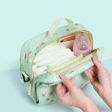 Mommy Handbag Baby Changing Diaper Nappy Shoulder Bag Bottle Mat Portable Large