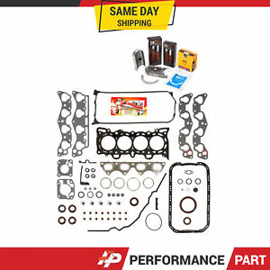 Fits 96-00 Honda Civic Delsol Gaskets Rings Bearings D16Y7