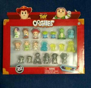 Disney Pixar Toy Story Ooshies 20 Pack -  9 Exclusive Ooshies!  (Rare)