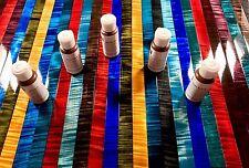 Leather Dye Kit | 5 Dye Colors Makes 2 Gallons Vibrant Leather Dye or Wood Dye