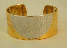 Bracciale donna Argento 925 Placcato Oro e Argento rodiato vintage OMA19