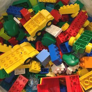LEGO DUPLO 500g Random Assorted Mixed Bricks Blocks & Colour Various Sizes