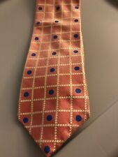"Nautica 100% Silk Tie 58"" Long 4"" Wide"