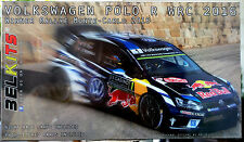 2016 VOLKSWAGEN RED BULL VW POLO R WRC Monte Carlo, 1:24, BELKITS 011 NUOVO 2017