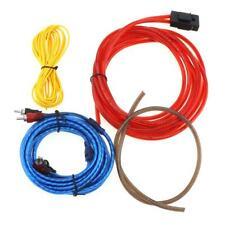 1 set Car Amplifier Wiring Kit Audio Subwoofer Sub Power AMP RCA Cable Line Suit