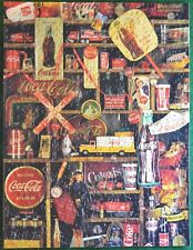 """COKE IS IT Jigsaw Puzzle 500 Pieces 18"""" x23 1/2"""" Coca Cola Collectibles Complete"""