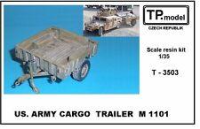 TP Model US. Army Cargo Trailer M 1101 für hmmwv 3503