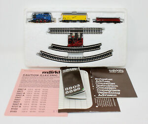 Z Scale Marklin American Freight Set - 1 BR 89 w/ 5 Pole Motor & 2 Freight Cars
