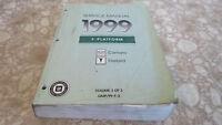 OEM 1999 Chevrolet Camaro/Pontiac Firebird Service Manual Vol 3/3  1111