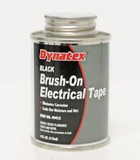LIQUID TAPE DYNATEX 49412 BLACK BRUSH-ON ELECTRICAL TAPE