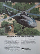 4/1991 PUB ROCKWELL COLLINS AVIONICS AN/ASC-15B US ARMY SIKORSKY HELICOPTER AD