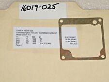 1973-1975 Kawasaki Z1 900 Z1P Carb Float Chamber Gasket NEW OEM NOS 16019-025