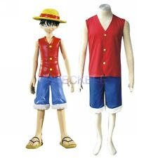 Anime One Piece Luffy Halloween Cosplay Costume