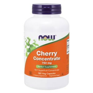 Now Foods Cherry Concentrate 750 Mg - 180 Veg Capsules Made in USA FREE SHIPPING