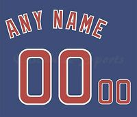 d75df6794d4 Baseball Chicago Cubs Royal Blue Jersey Customized Number Kit un-stitched