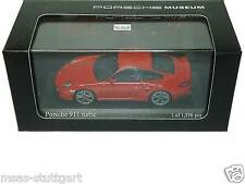 Porsche 911 turbo Indischrot Museum Edition Minichamps 1:43 MAP02036514 neu