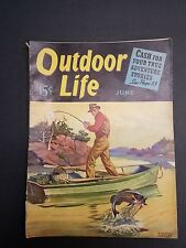 Outdoor Life June 1940 Arizona Deer Hunting Mexican Trout Quick Draw KY Catfish