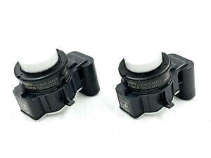 2x OEM BMW Parking Assist Parktronic Sensor PMA 66209261625 Alpine White