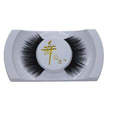 Stylish Black Handmade Natural Mink Hair Long Thick Eye Lashes False Eyelashes