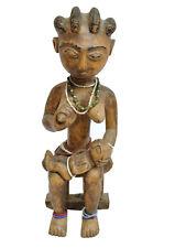 N° 20 BAULE : ALTE AFRIKANISCHE FIGUR / STATUETTE AFRICAINE ANCIENNE BAOULE