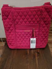 110ac07d79ff NEW Vera Bradley HIPSTER Crossbody Classic TANGO RED purse tote handbag bag   78