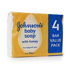 Johnson's Baby Soap with Honey x4