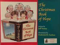 The Christmas Book of Hope by Jeff Verney (2006, Hardcover) Signed By Author