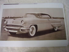 1955  LINCOLN  CAPRI  TWO DOOR  HARDTOP   BIG  11 X 17  PHOTO   PICTURE