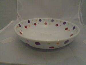 Pampered Chef DOTS Cereal Bowls