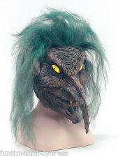 Horror Máscara De Látex mística leyenda oscuridad Duende Blix Troll Lotr Fancy Dress