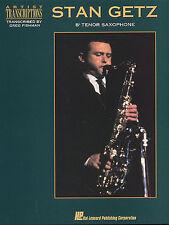 STAN GETZ JAZZ BLUES SWING Tenor Saxophone Music Book