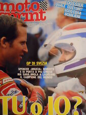 Motosprint 32 1983 Gp Svezia Freddie Spencer domina  su Roberts - [SC.31]