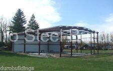 DuroBEAM Steel 30x48x10 Metal Garage Storage Shed Workshop Building Kit DiRECT