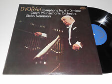 DVORAK NM Czech Philharmonic Vaclav Neumann Symphony No. 4 in D Minor Supraphon