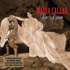 Maria Callas LA DIVINA 48 Songs PUCCINI Verdi OPERA New Sealed 3 CD
