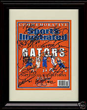 Framed Florida Gators Sports Illustrated Autograph Replica Print - Team Signed