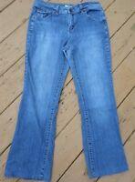 St. John's Bay Stretch Womens Blue Jeans Size 12 Cotton Blend
