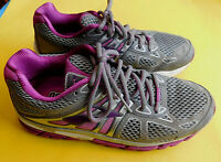 Brooks Ariel 14 Womens Running Athletic Shoes Sneakers Gray Purple Size 9