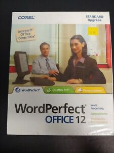 Corel WordPerfect Productivity Pack, Office 12(PC 2004) brand new sealed!!