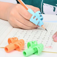 3pcs/Set Children Pencil Holder Pen Writing Aid Grip Posture Correction Tools