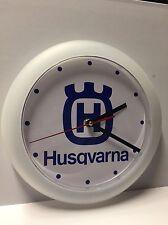 husqvarna motorcycles man cave clock motocross vmx