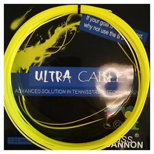 Weiss CANNON Ultra Cable/Babolat Hybrid 16g Tennis String