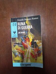 LIBROGAME LUPO SOLITARIO 24 RUNA DI GUERRA PRIMA EDIZIONE GIUGNO 1996 KM