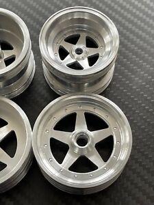 vintage kyosho tomahawk assault turbo scorpion 2014 alloy wheels set A type