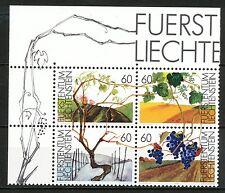Liechtenstein 1089 - 1092 postfris blok van vier