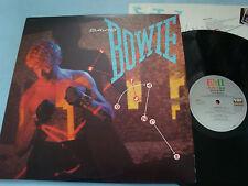 David Bowie Let's Dance LP NM SO-517093 1983