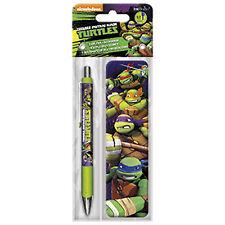 Teenage Mutant Ninja Turtles Animated Bookmark And Pen Set NEW Gel Ink Reading