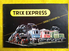 TRIX EXPRESS H0 1954 Modellbahnkatalog Katalog Modelleisenbahn, ca.50 S., A5