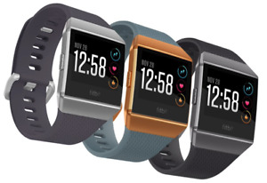 Brand New Fitbit Ionic Smart Watch Large Fitness Activity GPS Tracker AU Stock